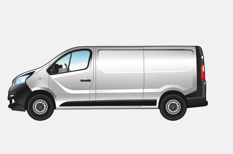 Fiat Professional Talento Bestelwagen LIGHT GRAY