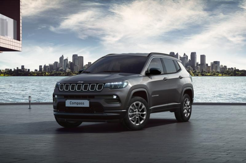 Jeep Compass Longitude Metallak (Blue Shade)